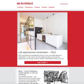 screen de architect
